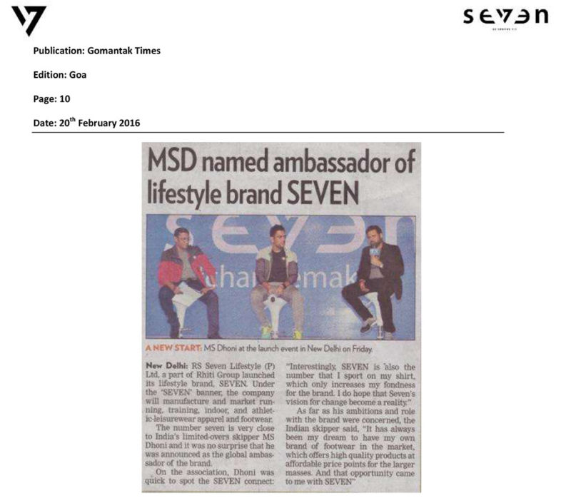 MSD named ambassador of lifestyle brand SEVEN
